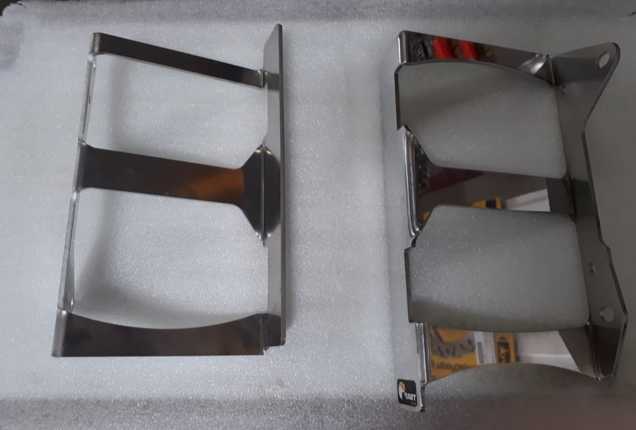 Protetor do radiador lateral frontal crf 450R 2013/2014