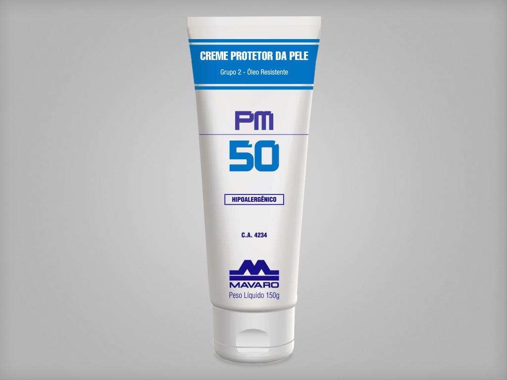 Creme Protetor da Pele PM50 - Óleo resistente - CA4234