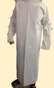 Avental de Segurança em PVC Tipo Barbeiro com Manga Longa - CA 37910