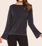 Blusa Lurex Sem Costura 45202-001