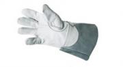 Luva de Vaqueta Cobertura para Proteção Contra Agentes Mecânicos CA28586