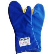 Luva de Segurança 2 Dedos Mão de Gato - Suporta até 350°C - Radiant Heat CA 28688