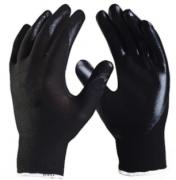 Luva de Segurança de Nylon com Nitrilíco Ultrablack - CA 39176