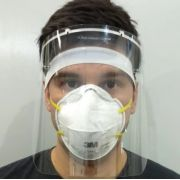 Protetor Facial Total Face Shield Towbar 030x22cmx0,5mm
