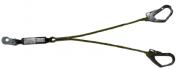 Talabarte Y em Corda de Alma em Aço com Dispositivo  ABS - Mosquetão 55 mm