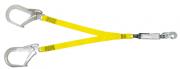Talabarte Y em Fita com ABS - Mosquetão 110 mm