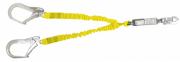 Talabarte Y em Fita Elástica com ABS - Mosquetão 110 mm