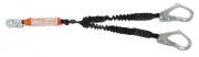 "Talabarte ""Y"" tubular c/ absorv.energia conector 55mm - MULT 1892"