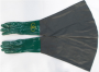 Luva de Segurança em PVC Jatista com Palma Áspera CA 1170