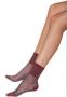 Meia Soquete Listras com Lurex 05556-001
