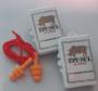 Protetor Auditivo Plug Silicone 14dB com Cordão CA 18189