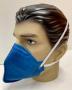 Respirador Purificador de Ar Tipo Peça Semifacial Filtrante para Partículas PFF2 CA 43740 Sem Válvula LOTE 100 UNIDADES
