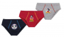 Cueca Slip Lupo kids Mickey Kit 3 unid. 00111-089