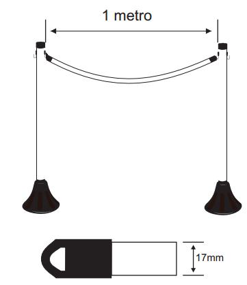 Barra de Isolamento em PVC Flexível