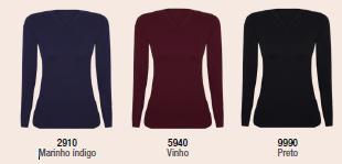 Blusa Warm Sem Costura 45214-001