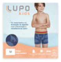 Cueca Boxer Lupo kids Sem Costura 00137-003