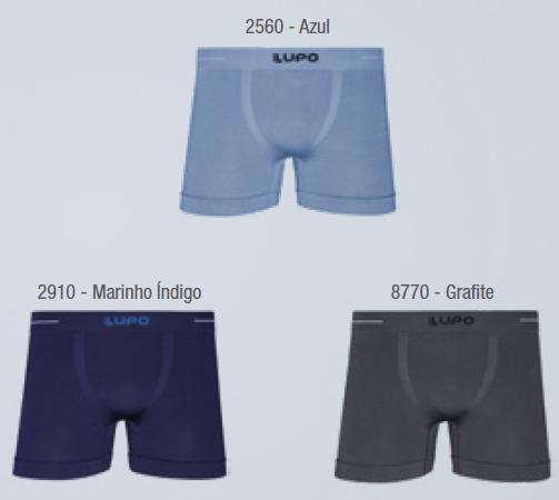 Cueca Boxer Microfibra Sem Costura 00621-006