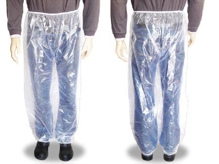 Calça de Segurança Impermeável Transparente com Elástico na Cintura e Tornozelo CA 30355