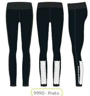 Calça Legging Lace 71710-001