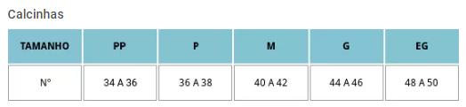 Calcinha Technofusão Importada 43012-001