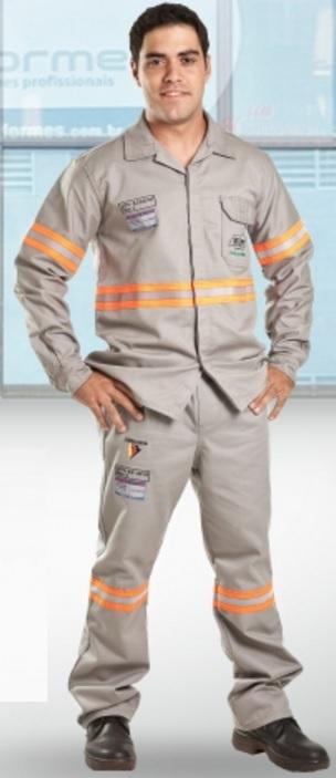 Camisa Eletricista com Faixa Refletiva - Risco 1(I) E 2(II) ATPV 9 CAL/CM² CA 30762