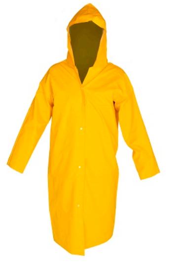 Capa de Chuva de PVC com Capuz - Impermeável CA 28449