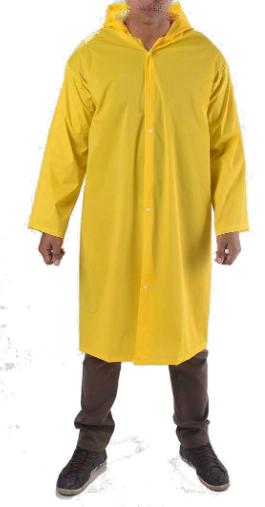 Capa de Chuva de PVC com Capuz Impermeável  CA 33304
