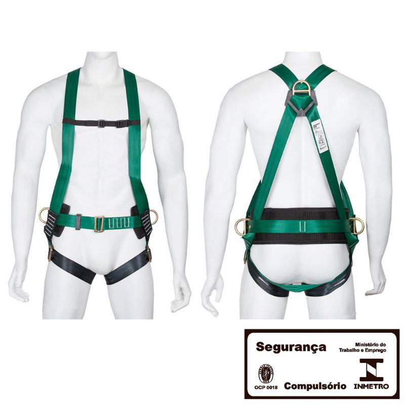 Cinturão de Segurança Tipo Paraquedista Eletricista 3P CA34613