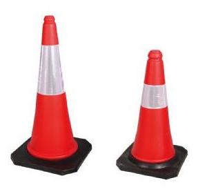 Cone de Sinalização com Faixa Refletiva CG 750mm