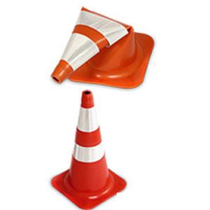 Cone de Sinalização Flexível Refletivo NBR 15071 6c7c7124fe