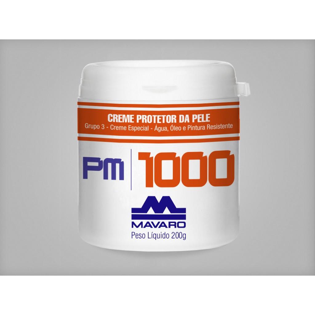 Creme Protetor da Pele PM1000- Água, Óleo e Pintura Resistente - CA 10931
