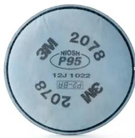 Filtro Mecânico 2078 P2 - Contra Poeiras, Névoas e Fumos