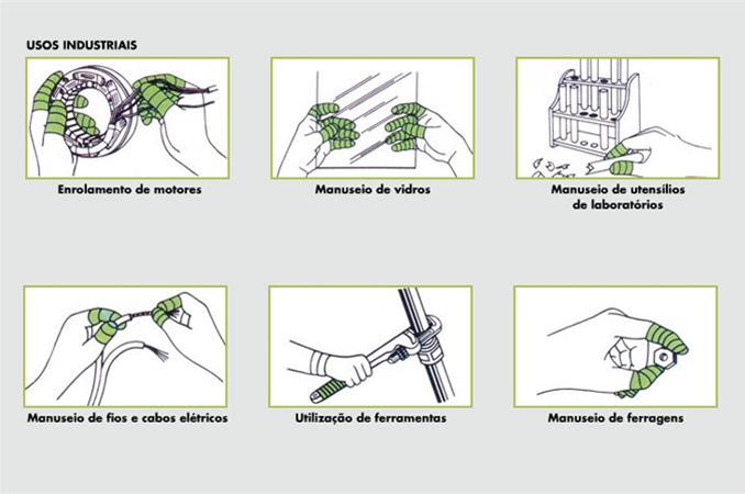 Fita Auto-Adesiva (sem cola) Safe-Bandagem 15 mts X 25,4 mm