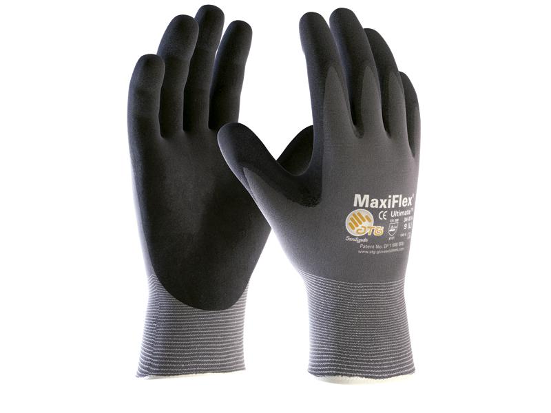Luva de Segurança em Nylon Maxiflex Ultimate - CA 27955