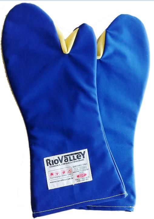 Luva de Segurança 2 Dedos Mão de Gato - Suporta até 350°C - Radiant 88ce1dd966