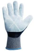 Luva de Segurança em Fios de Polietileno para Altas Temperaturas 250ºC Flexcut couro  - CA 38520