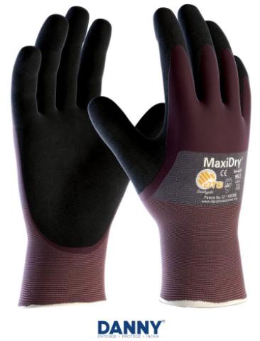 Luva de Segurança em Nylon Maxidry - CA 16467