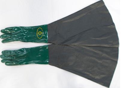 Luva de Segurança em PVC Jatista com Palma Lisa CA 1171