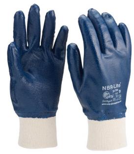 Luva de Segurança Nitrílica com Algodão  Novadex SN786 - CA 27192