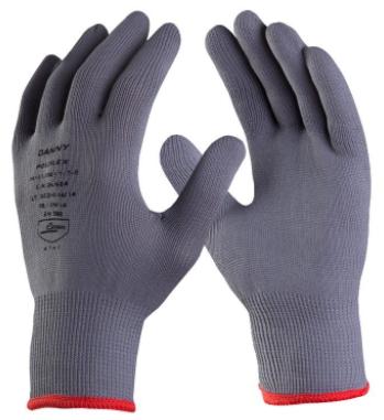 Luva de Segurança Tricotada em Nylon Poliflex - CA 26924