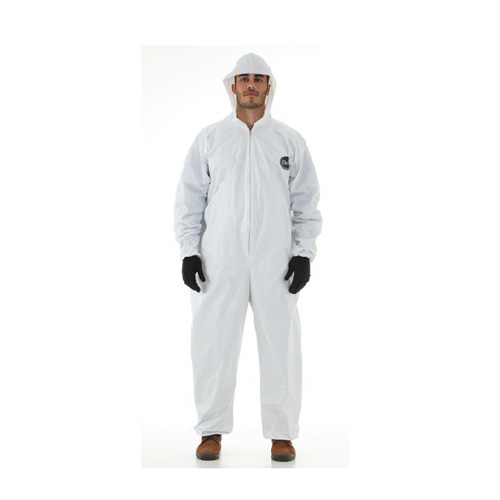 Macacão de Segurança Branco Proteção Química CA 14811 - EPI Sul do Brasil  ... 9d42ad8570