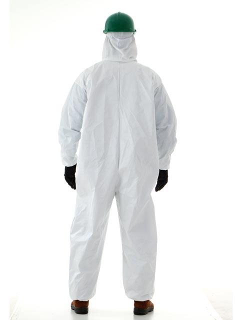 Macacão de Segurança Branco Proteção Química CA 14811