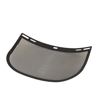"""Malha de Aço 8""""x12"""" com Borda Plástica para Protetor Facial"""