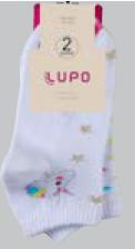Meia Socks Feminina Cano 6 cm - KIT 2 pares 04535-088