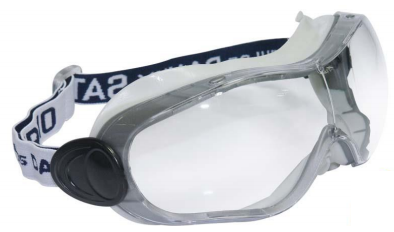 Óculos de Proteção Ampla Visão em Policarbonato Óptico Saturno - CA 16461