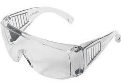 Óculos de Proteção de Ampla Visão com Hastes sem Regulagem CA 27407
