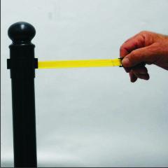 Pedestal com Fita Retrátil 1,5m