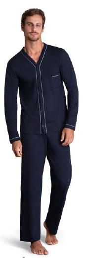 Pijama Longo Botões 28048-002