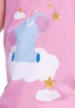 Pijama Nuvens Infantil 22294-001