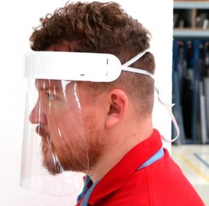 Protetor Facial Total Face Shield Bold 0184x0212x0,5MM
